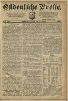 Ostdeutsche Presse. J. 3, 1879, nr 276