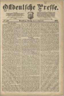 Ostdeutsche Presse. J. 3, 1879, nr 277