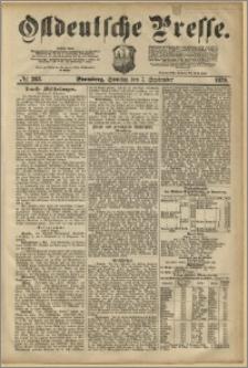 Ostdeutsche Presse. J. 3, 1879, nr 283