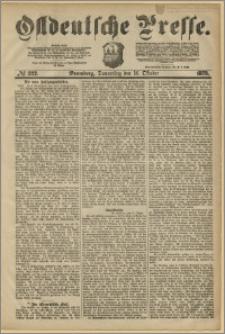 Ostdeutsche Presse. J. 3, 1879, nr 322