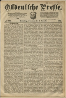 Ostdeutsche Presse. J. 3, 1879, nr 338
