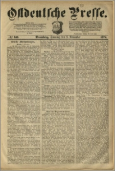 Ostdeutsche Presse. J. 3, 1879, nr 346