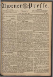 Thorner Presse 1886, Jg. IV, Nro. 100