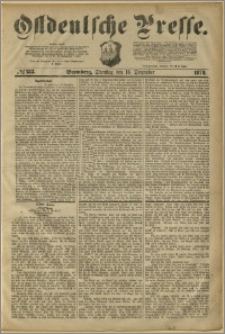 Ostdeutsche Presse. J. 3, 1879, nr 383