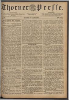 Thorner Presse 1886, Jg. IV, Nro. 101 + Beilagenwerbung