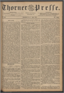 Thorner Presse 1886, Jg. IV, Nro. 129