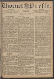 Thorner Presse 1886, Jg. IV, Nro. 131 + Beilagenwerbung