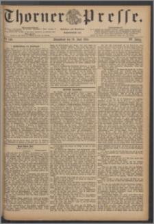 Thorner Presse 1886, Jg. IV, Nro. 140 + Extrablatt