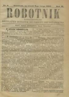 Robotnik Katolicko - Polski : bezpłatny dodatek do Gazety Grudziądzkiej 1906.02.06 R.2 nr 6