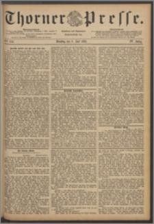Thorner Presse 1886, Jg. IV, Nro. 154