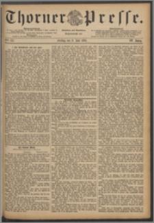 Thorner Presse 1886, Jg. IV, Nro. 157