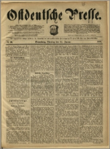 Ostdeutsche Presse. J. 12, 1888, nr 20