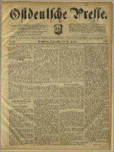 Ostdeutsche Presse. J. 12, 1888, nr 22