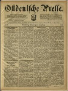 Ostdeutsche Presse. J. 12, 1888, nr 34