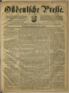 Ostdeutsche Presse. J. 12, 1888, nr 36