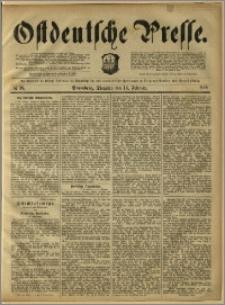 Ostdeutsche Presse. J. 12, 1888, nr 38