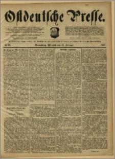 Ostdeutsche Presse. J. 12, 1888, nr 39