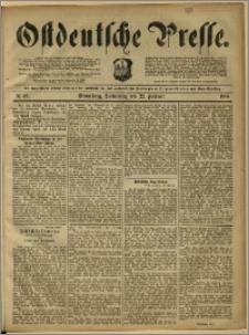 Ostdeutsche Presse. J. 12, 1888, nr 46