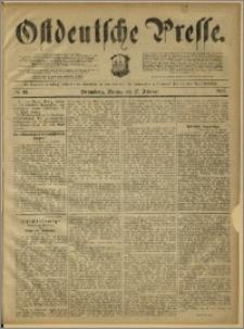 Ostdeutsche Presse. J. 12, 1888, nr 49