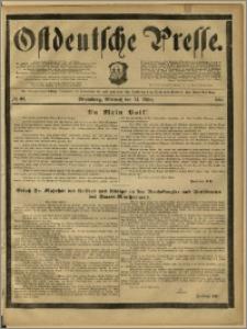 Ostdeutsche Presse. J. 12, 1888, nr 63