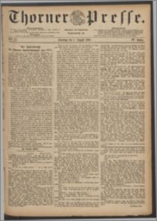 Thorner Presse 1886, Jg. IV, Nro. 177 + Beilage