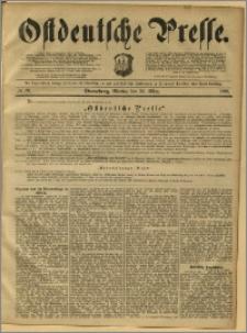 Ostdeutsche Presse. J. 12, 1888, nr 73