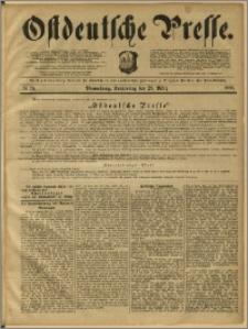 Ostdeutsche Presse. J. 12, 1888, nr 76