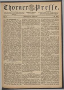 Thorner Presse 1886, Jg. IV, Nro. 179
