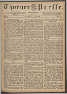 Thorner Presse 1886, Jg. IV, Nro. 180