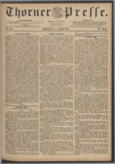 Thorner Presse 1886, Jg. IV, Nro. 182