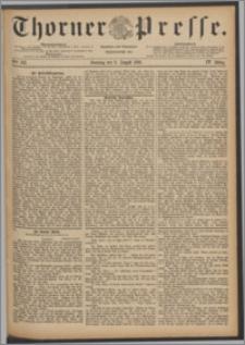 Thorner Presse 1886, Jg. IV, Nro. 183 + Beilage