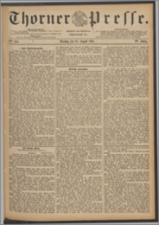 Thorner Presse 1886, Jg. IV, Nro. 184