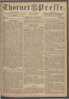 Thorner Presse 1886, Jg. IV, Nro. 185