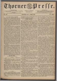 Thorner Presse 1886, Jg. IV, Nro. 186