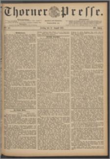 Thorner Presse 1886, Jg. IV, Nro. 187