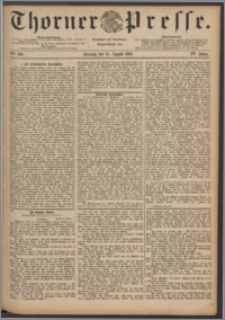 Thorner Presse 1886, Jg. IV, Nro. 189 + Beilage
