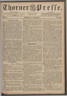 Thorner Presse 1886, Jg. IV, Nro. 191
