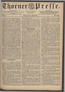 Thorner Presse 1886, Jg. IV, Nro. 193