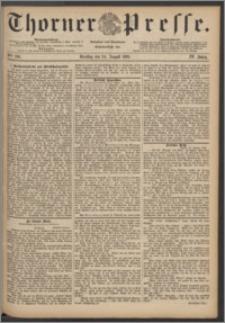 Thorner Presse 1886, Jg. IV, Nro. 196
