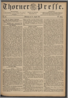 Thorner Presse 1886, Jg. IV, Nro. 197