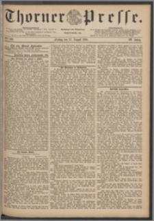 Thorner Presse 1886, Jg. IV, Nro. 199