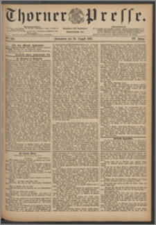 Thorner Presse 1886, Jg. IV, Nro. 200