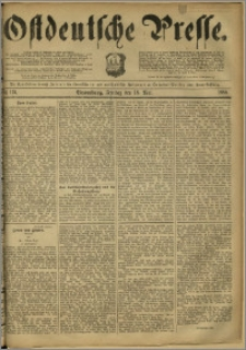 Ostdeutsche Presse. J. 12, 1888, nr 115