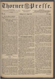 Thorner Presse 1886, Jg. IV, Nro. 202