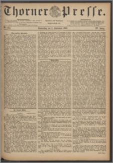 Thorner Presse 1886, Jg. IV, Nro. 204