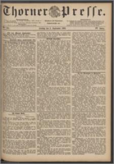Thorner Presse 1886, Jg. IV, Nro. 205