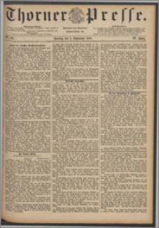 Thorner Presse 1886, Jg. IV, Nro. 207 + Beilage