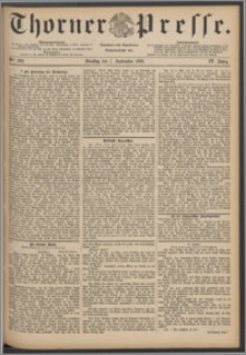 Thorner Presse 1886, Jg. IV, Nro. 208