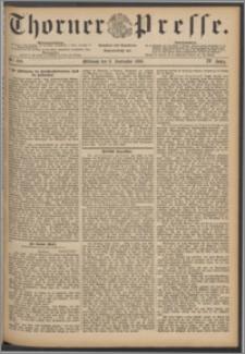 Thorner Presse 1886, Jg. IV, Nro. 209