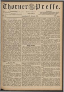 Thorner Presse 1886, Jg. IV, Nro. 210
